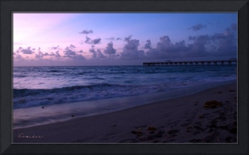 Tropical Sunrise Beach Seascape C3