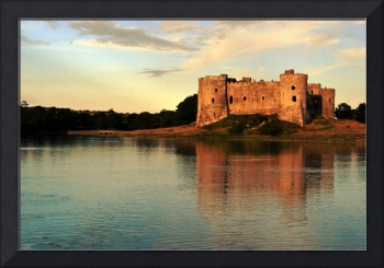 Carew Sunset