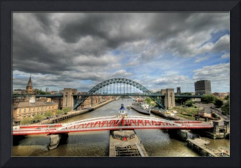 Swing bridge & Tyne bridge