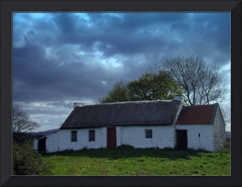 Thatched cottage Donegal Ireland