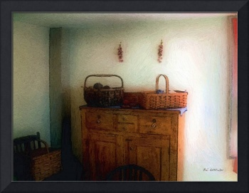 Still Life With Sewing Baskets