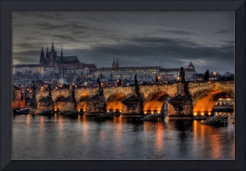 Charles Bridge and Hradcany