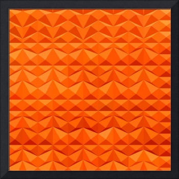 Red Mountain Ranges Abstract Low Polygon Backgroun