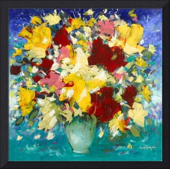 Abstract Still Life - Flowers