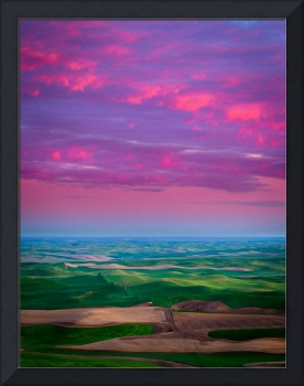 Palouse Fiery Dawn