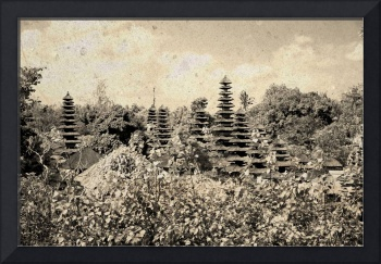 Balinese Temple Roofs