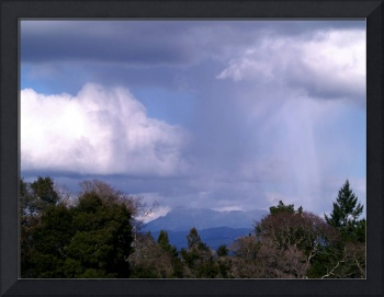 Mount Saint Helena During Storm