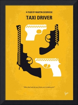 No087 My Taxi Driver minimal movie poster