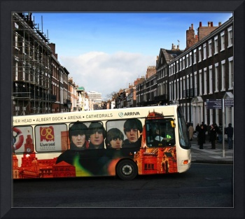 Liverpool Beatles Bus