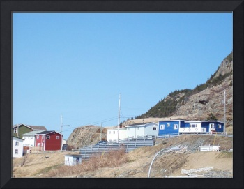 Houses on the Cliffs of Bell Island