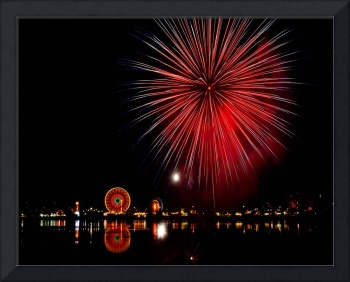 Olympia Lake Fair Fireworks #3