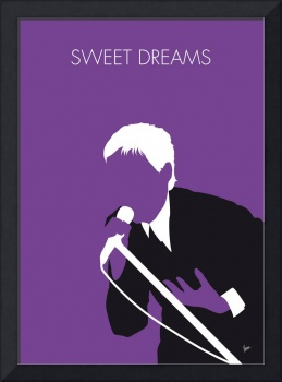 No111 MY EURYTHMICS Minimal Music poster