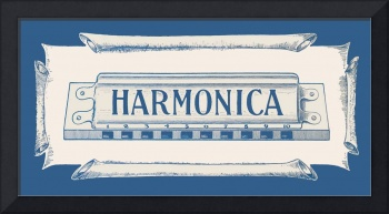 Harmonica, detail from 1955 booklet cover