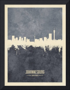 Johannesburg South Africa Skyline