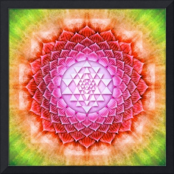 Sri Yantra Lotus- Artwork II