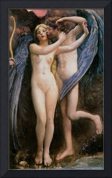 Cupid and Psyche by Annie Swynnerton
