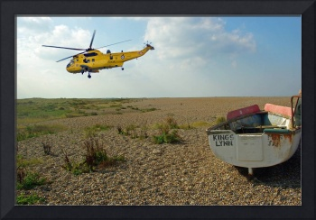 RAF Rescue over the Wash, Norfolk