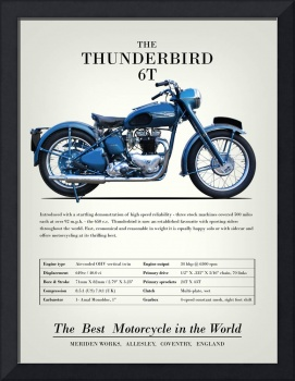 The Thunderbird 6T Vintage Advert 1952