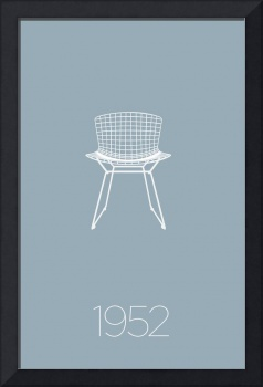 Modern Furniture Classic 1952 Wire Chair