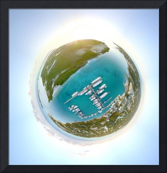 Turks and Caicos Tiny Planet