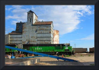 Color Study (Mill, Train, Ramp), Alliance, NE