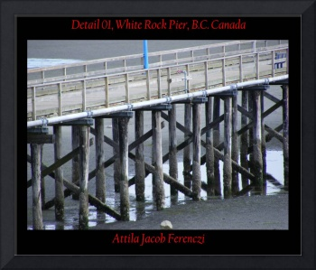 Detail 01 White Rock Pier BC Canada