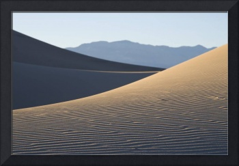 Death Valley Sand Dunes Abstract