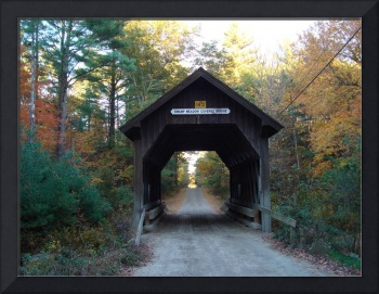 Covered Bridge Foster in Fall