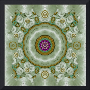 Soft And Sweet Lotus Floral In greens