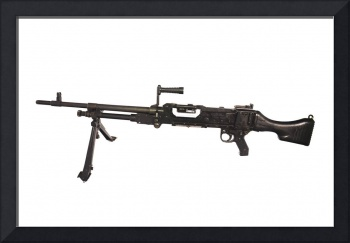 Belgian FN MAG 7.62mm general purpose machine gun
