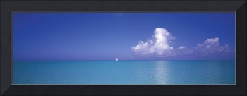Sailboat Turks and Caicos Caribbean Islands