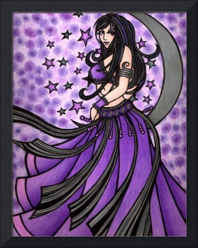 Violet Belly Dancer