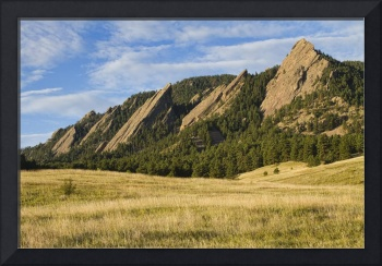 Majestic Flatiron View Boulder Colorado