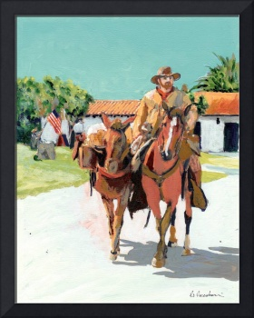 Mule Team Delivery by RD Riccoboni
