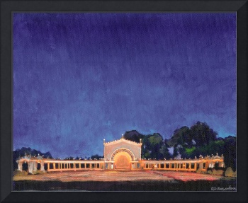 Deep Blue Night – Spreckles Organ Pavilion