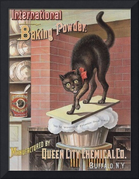Black Cat Vintage Advertisement