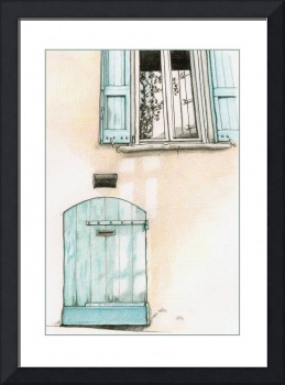Small Blue Door