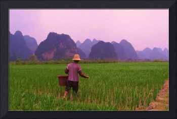 The Sower.....Yangshuo China