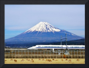 Japan Photo Framed Print