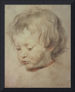 Portrait of a Boy (drawing) by Peter Paul Rubens
