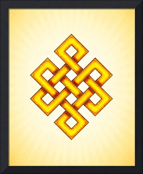 Endless Knot - Yellow