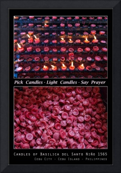 Pick Your Candles - Light Your Candles - Say Your