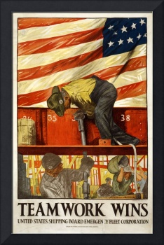 WORLD WAR ONE INDUSTRIAL POSTER
