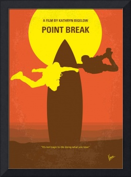 No455 My Point Break minimal movie poster