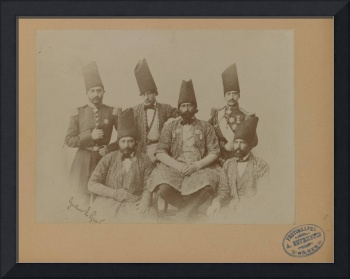 Members of the Special Mission of Persia to the Co