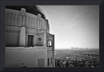 Griffith Observatory And Downtown Los Angeles