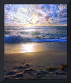 Treasure Coast Florida Sunrise Seascape B7