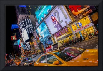 Times Square in Color, New York City