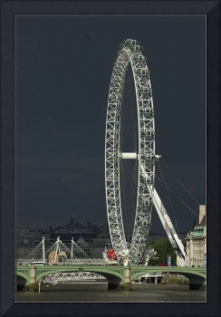 The London Eye and Westminster Bridge 1