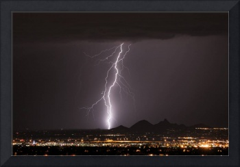 North Scottsdale Lightning Strike